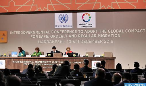 """ONU: Appel à une grande adhésion au pacte """"People Global Action"""" adopté à Marrakech"""