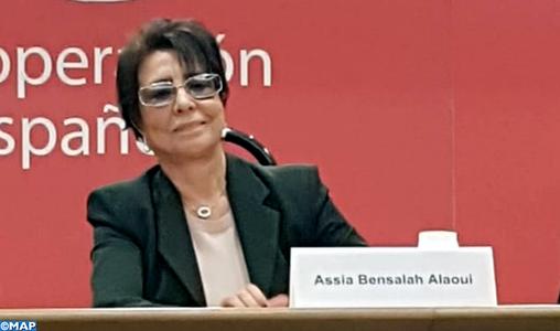 Promotion des droits de la femme: Mme Bensalah Alaoui souligne à Madrid les progrès du Maroc