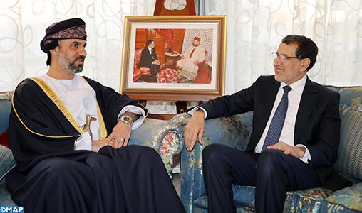 Le président du Conseil de la Choura omanais salue le développement que connaît le Maroc à tous les niveaux