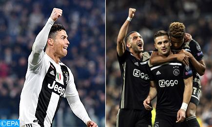 Ligue des Champions ¼ de finale: Les coéquipiers de Ziyech affronteront La Juventus