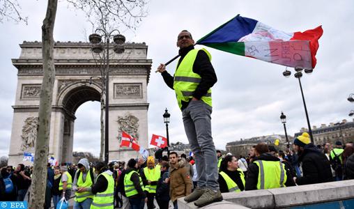Gilets jaunes : Plus de 32.000 manifestants dans toute la France