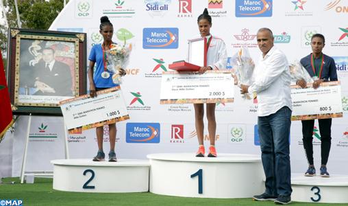 5ème Semi-marathon international de Rabat (dames) : L'Éthiopienne Yalemzerf Yehualaw sacrée