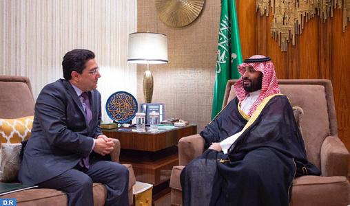 Message de SM le Roi Mohammed VI au Prince héritier d'Arabie saoudite
