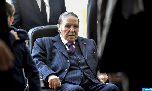 """Le Président algérien présentera sa démission avant la """"fin de son mandat électif"""" (Présidence)"""