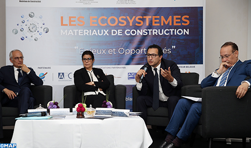 Les écosystèmes matériaux de construction, un levier de la croissance de l'économie nationale (M. Fassi Fihri)