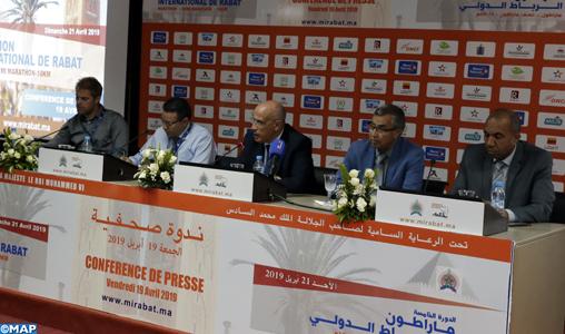 Marathon international de Rabat (5è édition) : Participation de champions de renommée mondiale représentant 45 pays