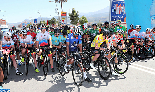 Tour international cycliste du Maroc-2019: le Marocain Ahmed Galdoune 2ème à la 9ème étape derrière le Français Orceau Clement