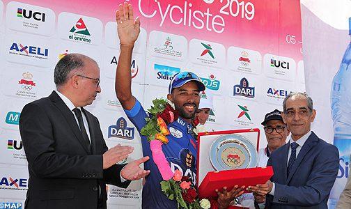 Tour international cycliste du Maroc-2019 : Mehdi Choukri meilleur jeune
