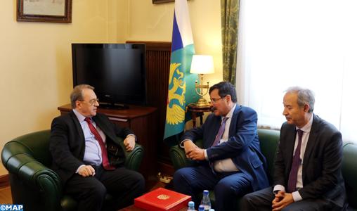 La Russie et le Maroc avancent ensemble d'un pas sûr dans le cadre de leur partenariat stratégique (vice-ministre russe des AE)
