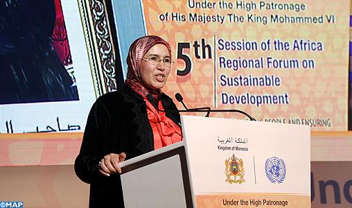 Mme El Ouafi appelle à renforcer l'échange entre Etats africains en matière de développement durable