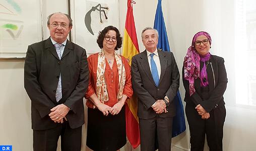 Mme Akharbach s'entretient à Madrid avec le régulateur national espagnol