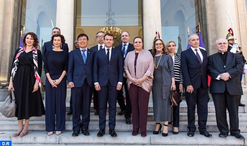 Notre-Dame de Paris: Une délégation de l'Unesco conduite par Audrey Azoulay et Zohour Alaoui reçue à l'Elysée