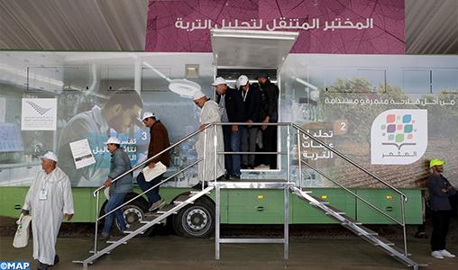 """OCP: Escale à Laattaouia du programme itinérant """"Al Moutmir"""", dernière étape de sa tournée nationale"""