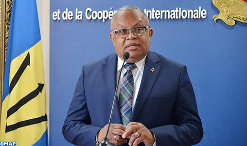 La Barbade appuie l'initiative marocaine d'autonomie au Sahara (MAE de la Barbade)