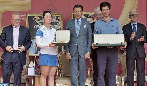 SAR le Prince Moulay Rachid préside à Rabat la Cérémonie de remise des prix de la 46ème édition du Trophée Hassan II et de la 25ème édition de la Coupe Lalla Meryem de golf
