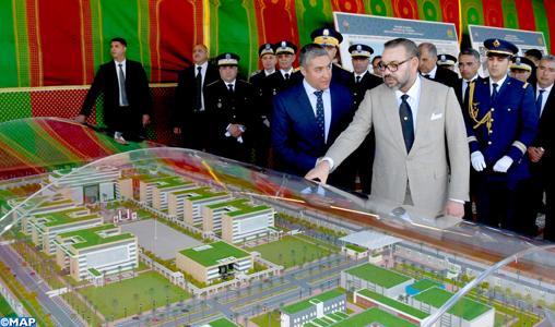 SM le Roi lance à Rabat les travaux de construction du nouveau siège de la Direction Générale de la Sureté Nationale, vecteur de modernité et d'efficience
