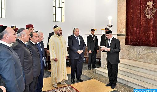 SM le Roi, Amir Al-Mouminine, donne Ses Très Hautes Instructions au ministre de l'Intérieur pour l'organisation des élections des Instances représentatives des communautés israélites marocaines (communiqué)
