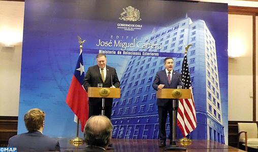 """Pour le Chili, la relation avec les États-Unis est une """"priorité"""" (Roberto Ampuero)"""