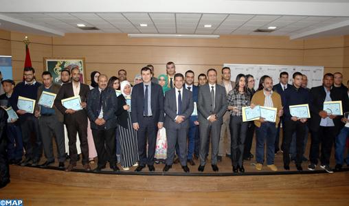 Prix des enseignants innovants : Mohamed Kessou et Abderrahim Aziz récompensés