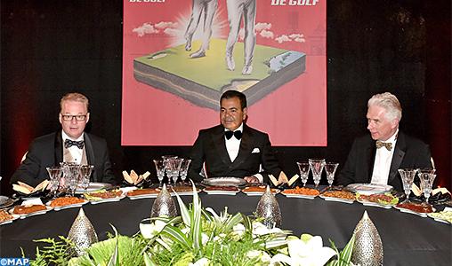 SAR le Prince Moulay Rachid préside un dîner offert par SM le Roi en l'honneur des invités du 46è Trophée Hassan II de golf et de la 25è édition de la Coupe Lalla Meryem