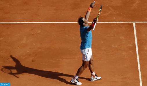 Masters 1000 de Monte-Carlo: Nadal qualifié pour les demi-finales