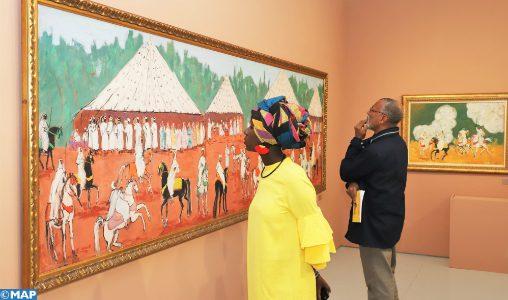 """""""Le sel de ma Terre"""": Hassan El Glaoui à l'honneur au Musée Mohammed VI d'Art moderne et contemporain de Rabat"""