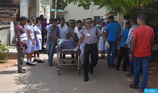 Une Marocaine blessée dans les attentats à la bombe au Sri Lanka