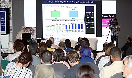 54,4%, taux de prévalence de la violence à l'égard des femmes au Maroc
