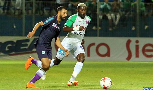 Botola Maroc Télécom D1 (28è journée) : Le Raja de Casablanca s'impose face au Mouloudia d'Oujda (2-1)
