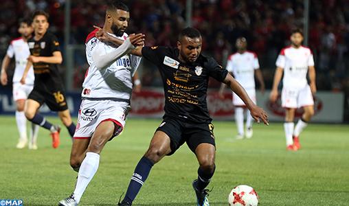 Botola Maroc Télécom D1 (29è journée) : Le Wydad de Casablanca et l'Ittihad de Tanger font match nul (2-2)