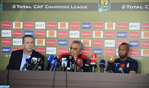 """Ligue des champions d'Afrique (finale aller): """"Nous allons essayer d'imposer notre style de jeu, tout en prenant du plaisir sur le terrain"""""""
