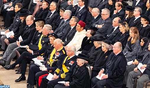 SAR le Prince Moulay Rachid représente SM le Roi aux funérailles du Grand-Duc Jean de Luxembourg