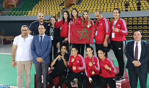 Les Marocaines remportent le tournoi de boxe au Gabon avec 5 médailles d'or