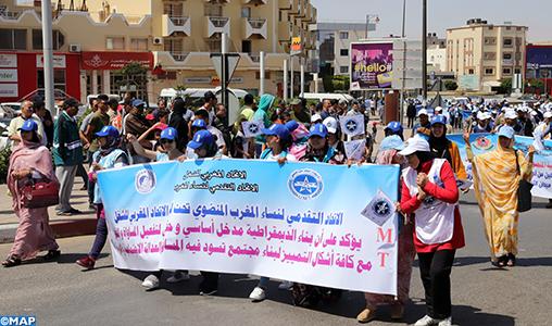1er mai à Laâyoune: La classe ouvrière appelle à la préservation de ses acquis et droits