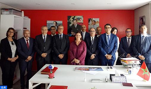 Son Altesse la Princesse Lalla Zineb préside la cérémonie de signature d'une convention de partenariat entre l'ONCF et la Ligue Marocaine pour la Protection de l'Enfance