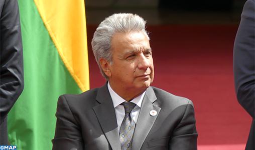 Le président équatorien demande au Parquet général d'enquêter sur ses comptes du temps où il était envoyé spécial de l'ONU