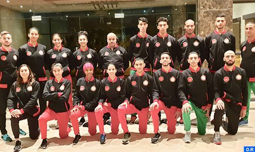 La sélection nationale de taekwondo prend part au championnat du monde 2019