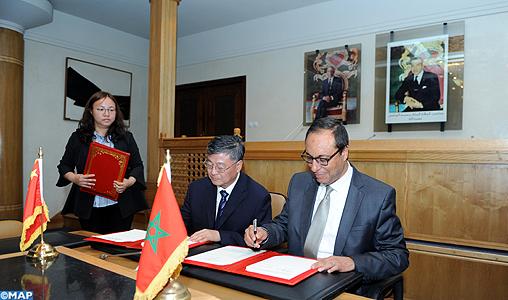 Le Maroc et la Chine s'engagent à renforcer leur coopération dans le domaine de l'eau
