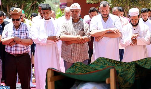 Obsèques à Marrakech de l'acteur marocain Abdellah Amrani