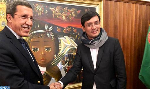 M. Omar Hilale, président du Conseil exécutif de l'UNICEF, en visite de travail en Colombie