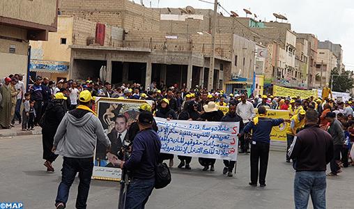 1er mai: La classe ouvrière de la région de Dakhla-Oued Eddahab célèbre la Journée internationale des travailleurs