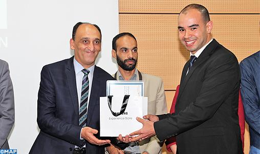 Remise à Rabat des prix du concours du développement du contenu pédagogique multimédia APK-Telmidetice 2018-2019