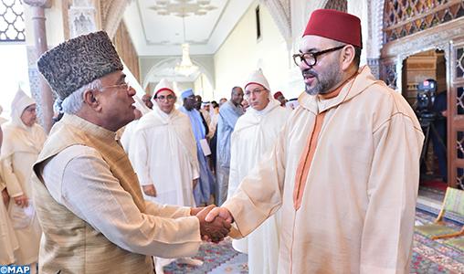 SM le Roi, Amir Al Mouminine, préside la deuxième causerie religieuse du mois sacré de Ramadan