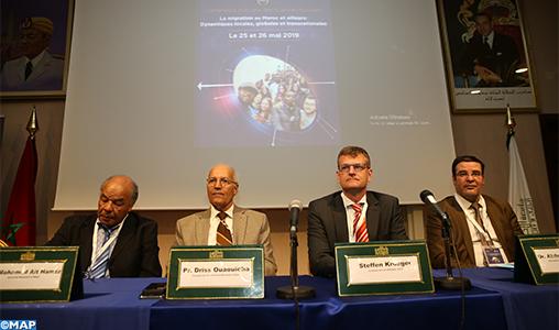 Ouverture à Ifrane de la 6-ème conférence annuelle des sciences sociales consacrée à la question de la migration