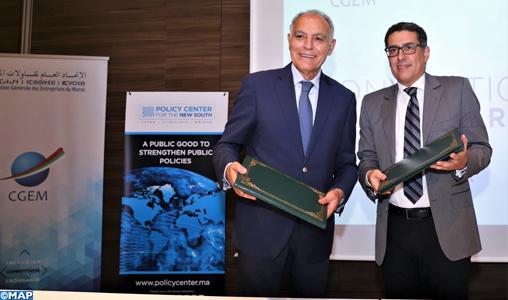 La CGEM et le PCNS s'associent pour améliorer leur coopération en matière d'économie et de relations internationales