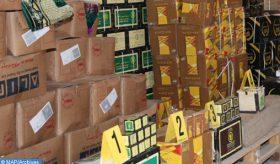 Plus de 1,8 MDH de marchandises de contrebande saisies à Nador en un weekend