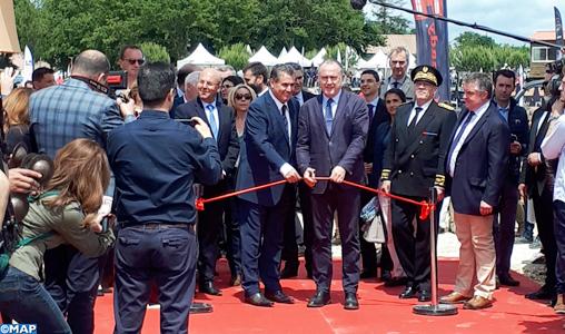 M. Aziz Akhannouch inaugure le pavillon du Maroc au Salon de la chasse et de la ruralité à Lamotte Beuvron
