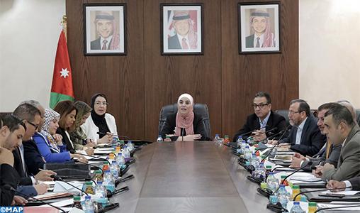 Série d'entretiens à Amman d'une délégation parlementaire marocaine