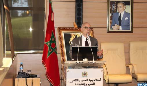 Le système nerveux et le génome, principaux éléments discutés lors d'une conférence sur l'instabilité génétique, à l'Académie Hassan II de Rabat