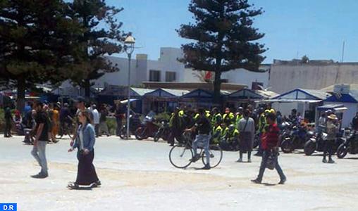 """Etape Agadir-Safi du """"Moroccan Motocycle Tour"""": Les Raiders font escale à Essaouira"""